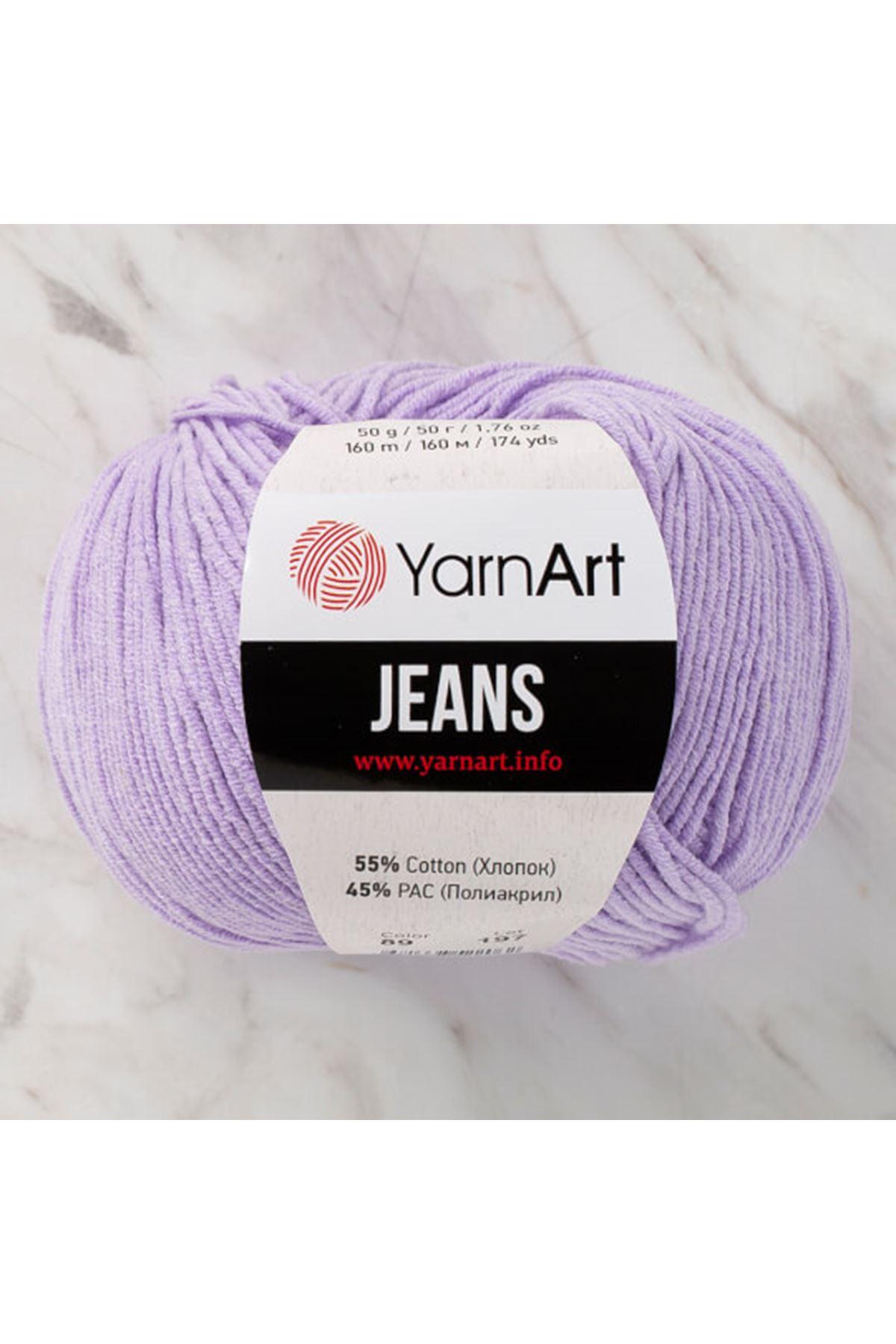 Yarnart Jeans 89 Lila