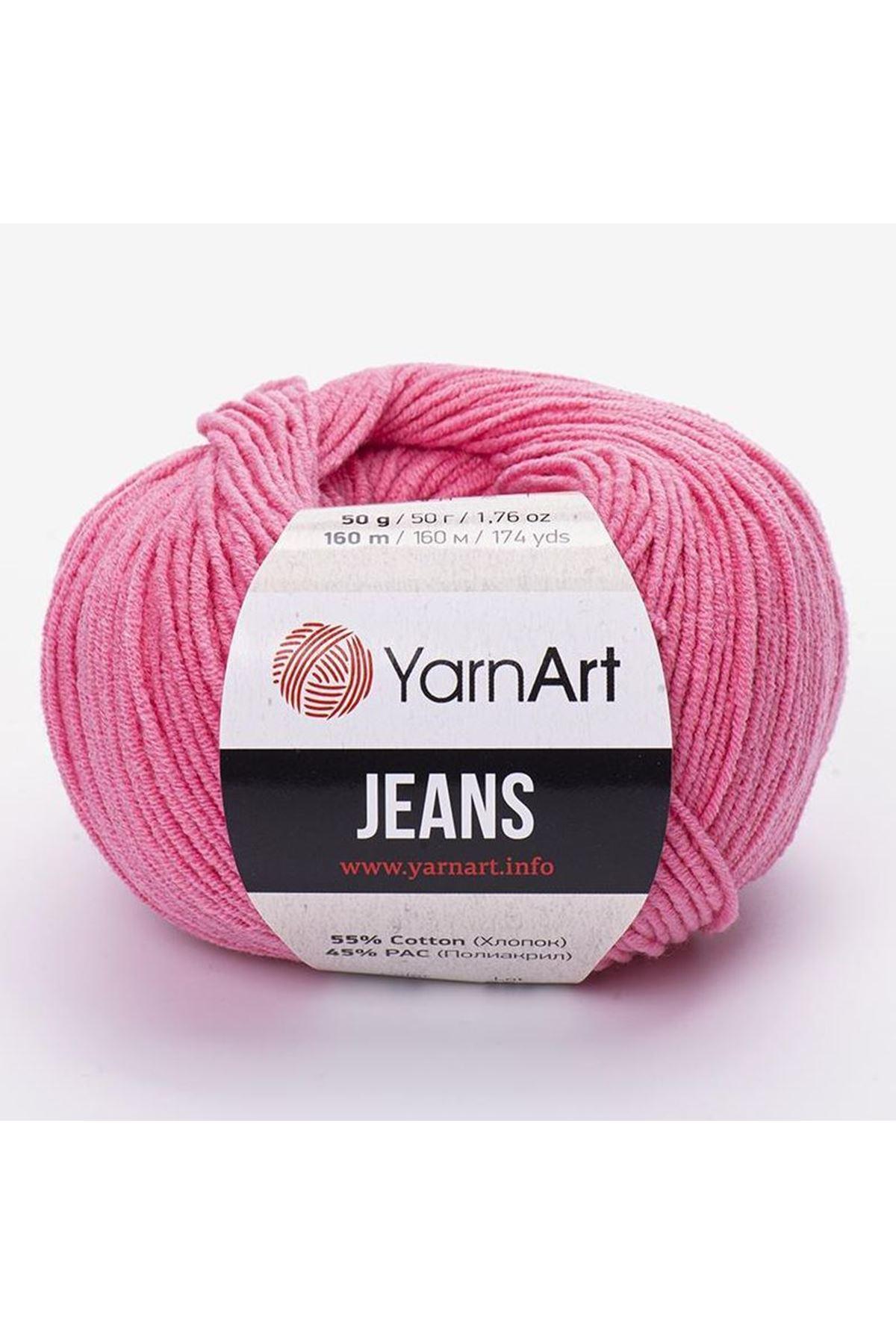 Yarnart Jeans 78 Şeker Pembe