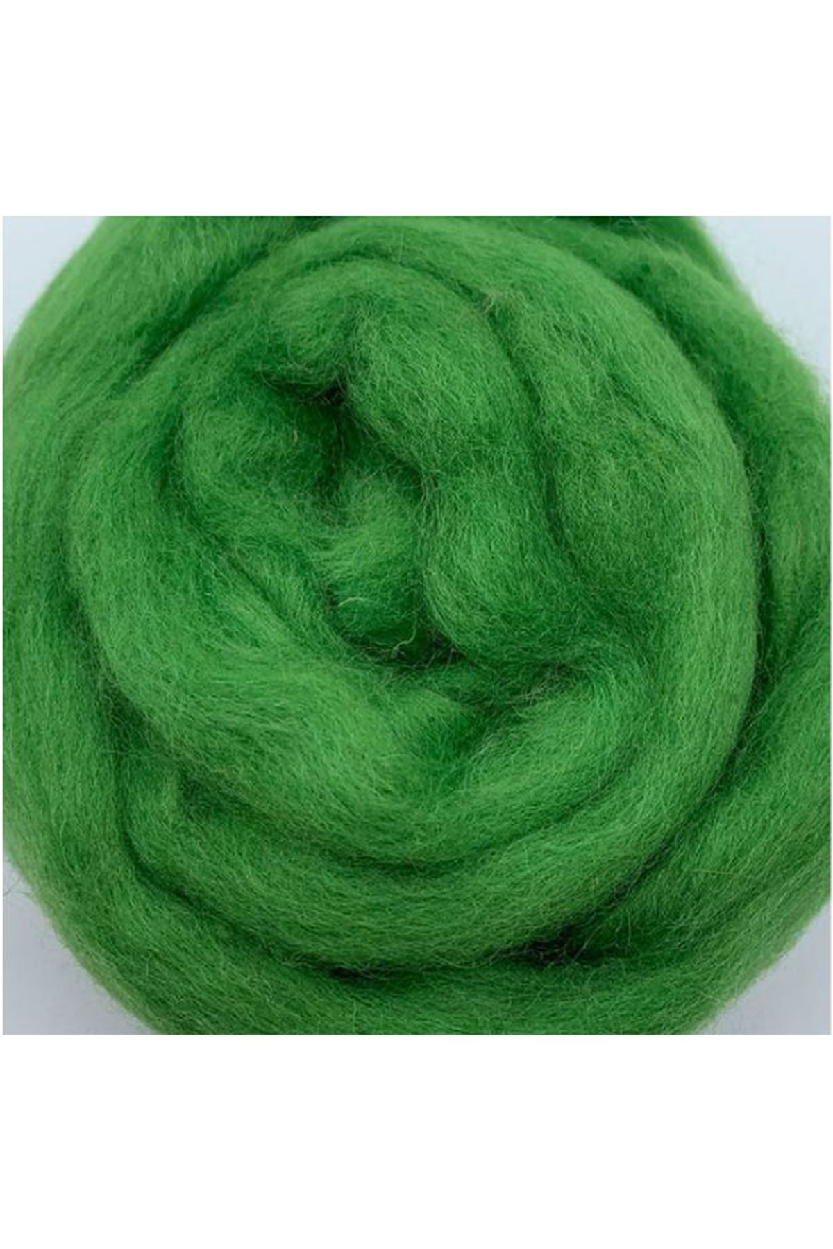 Saf Yün Keçe 25 gram 1 metre - Çimen Yeşili