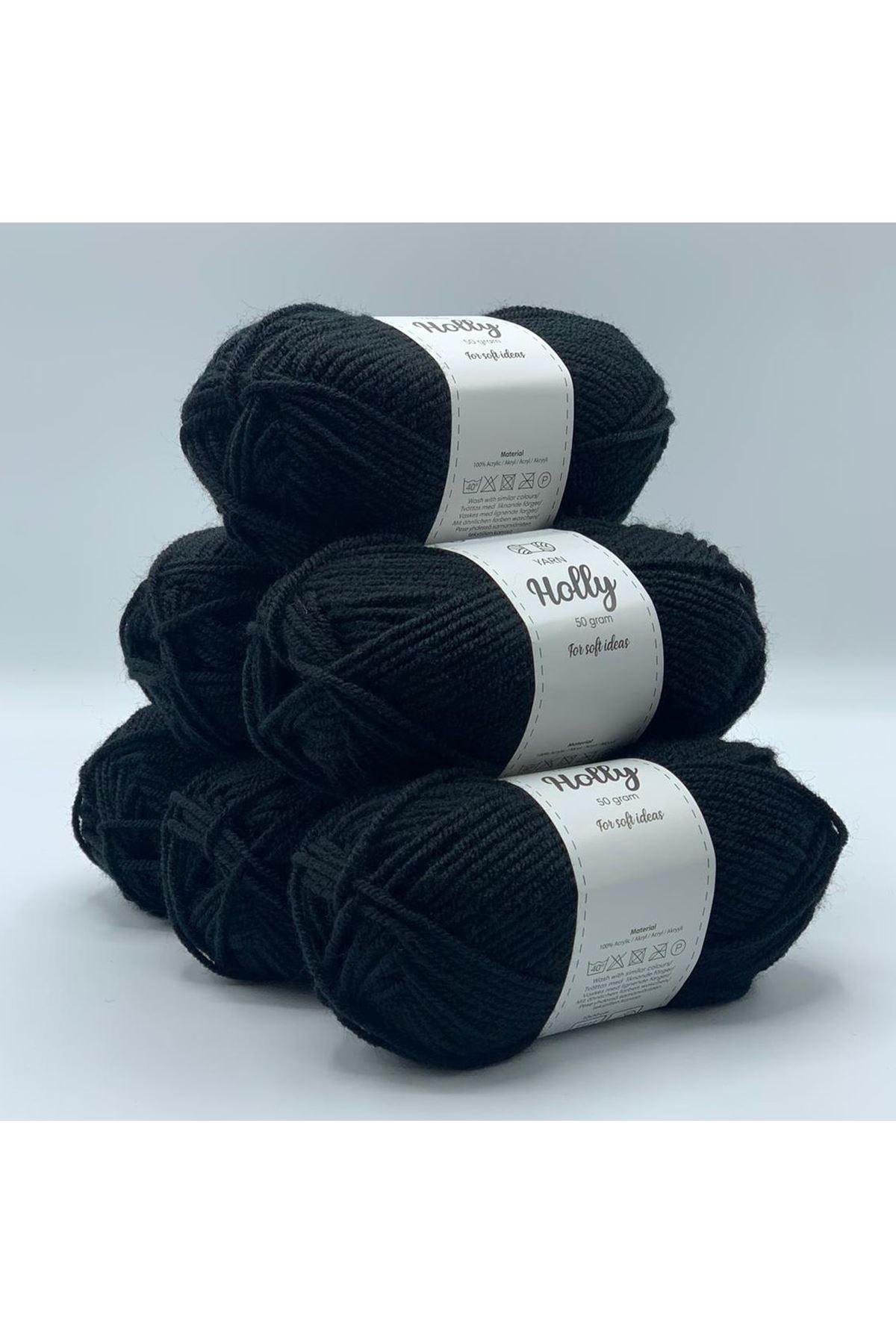 İhrac Fazlası 1148 Siyah 6'lı Paket 300 gram Akrilik