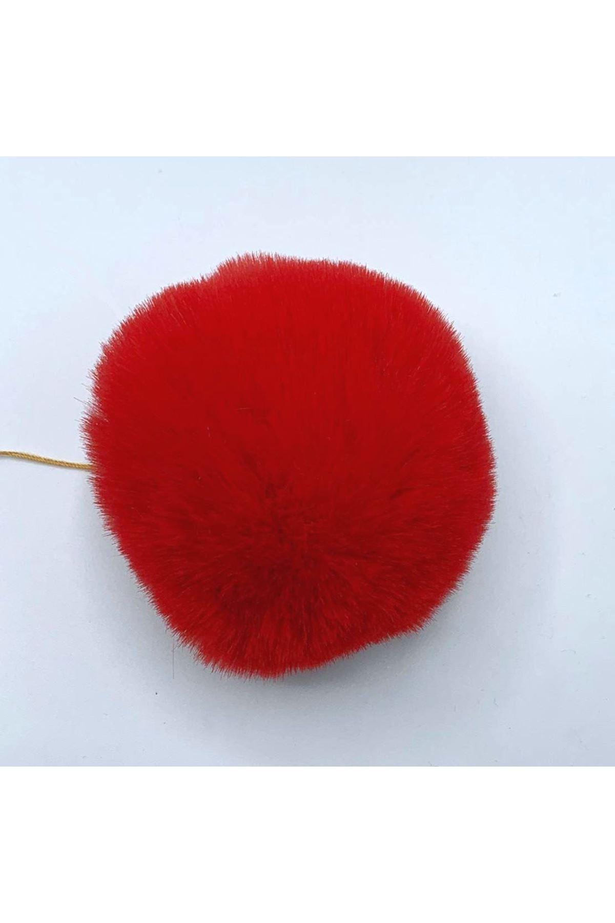 Şapka Ponponu 05 Kırmızı