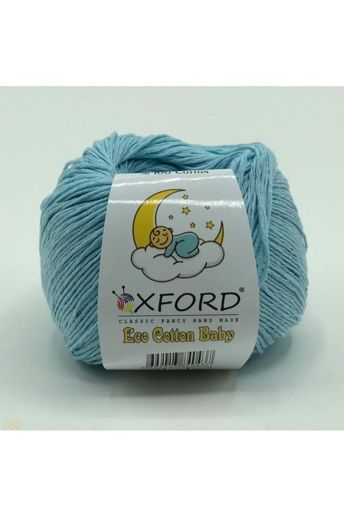 Eco Cotton Baby - 280 Açık Mavi