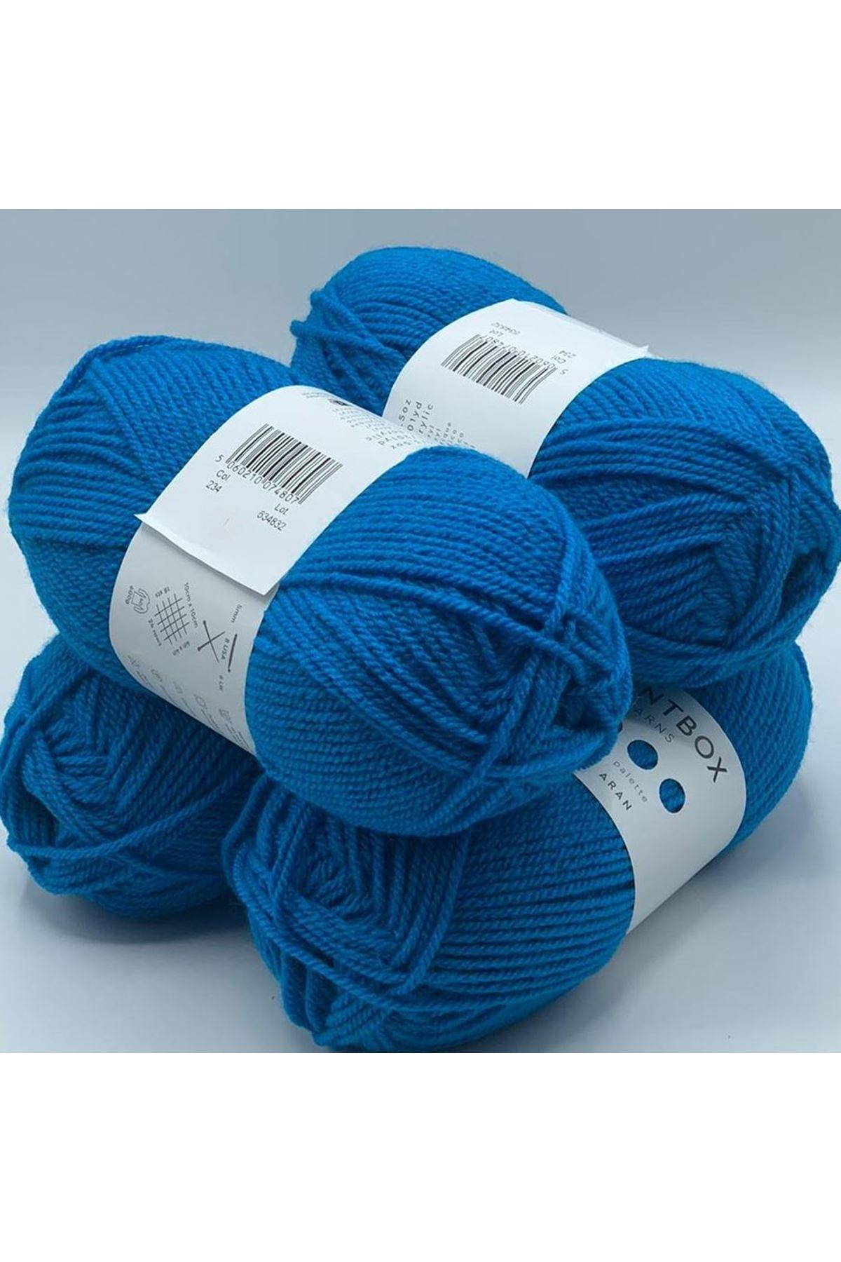 İhrac Fazlası 118 Orijinal Paintbox Simply DK 4'lü Paket Mavi