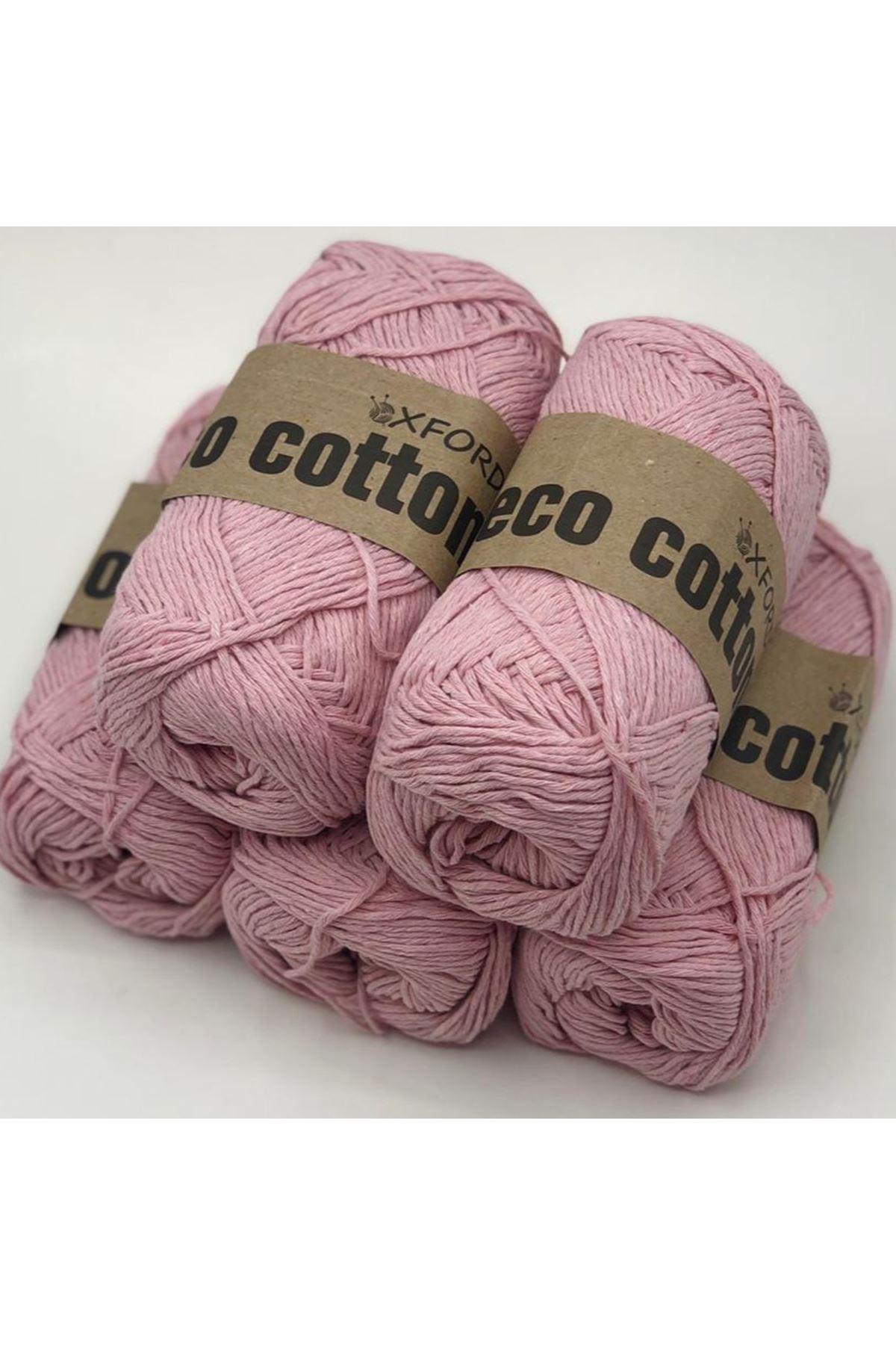 Oxford Eco Cotton Pembe 5'li Paket