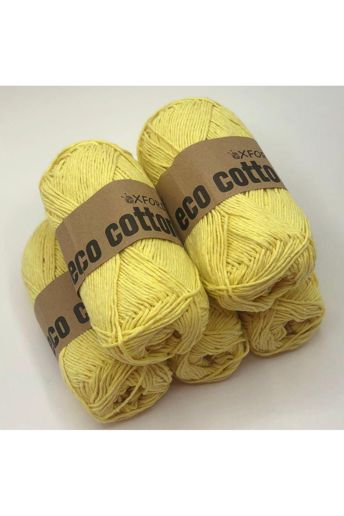 Oxford Eco Cotton Sarı 5'li Paket