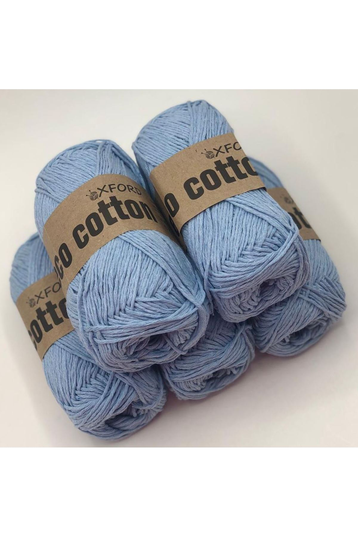 Oxford Eco Cotton Mavi 5'li Paket