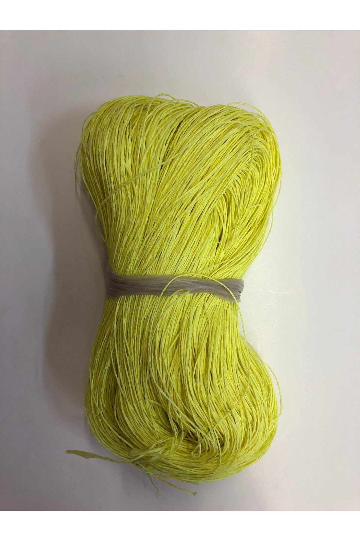 Kağıt İp Neon Sarı 638 gram