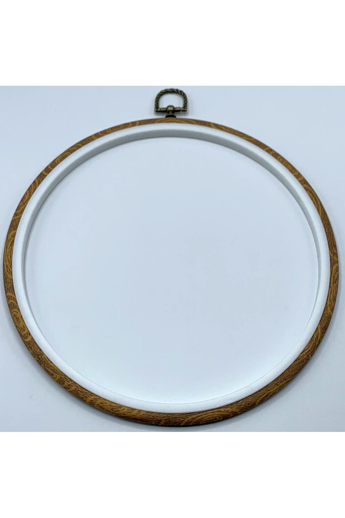 Plastik Kasnak Kahverengi 25 cm