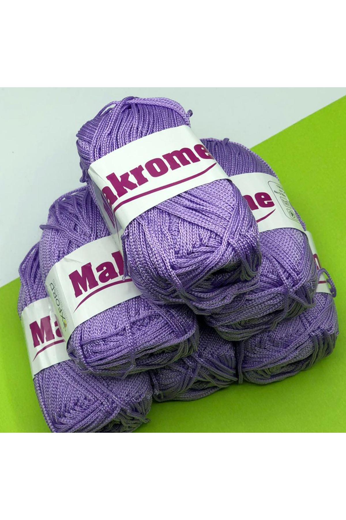 Polyester Makrome Grup - 01 Leylak