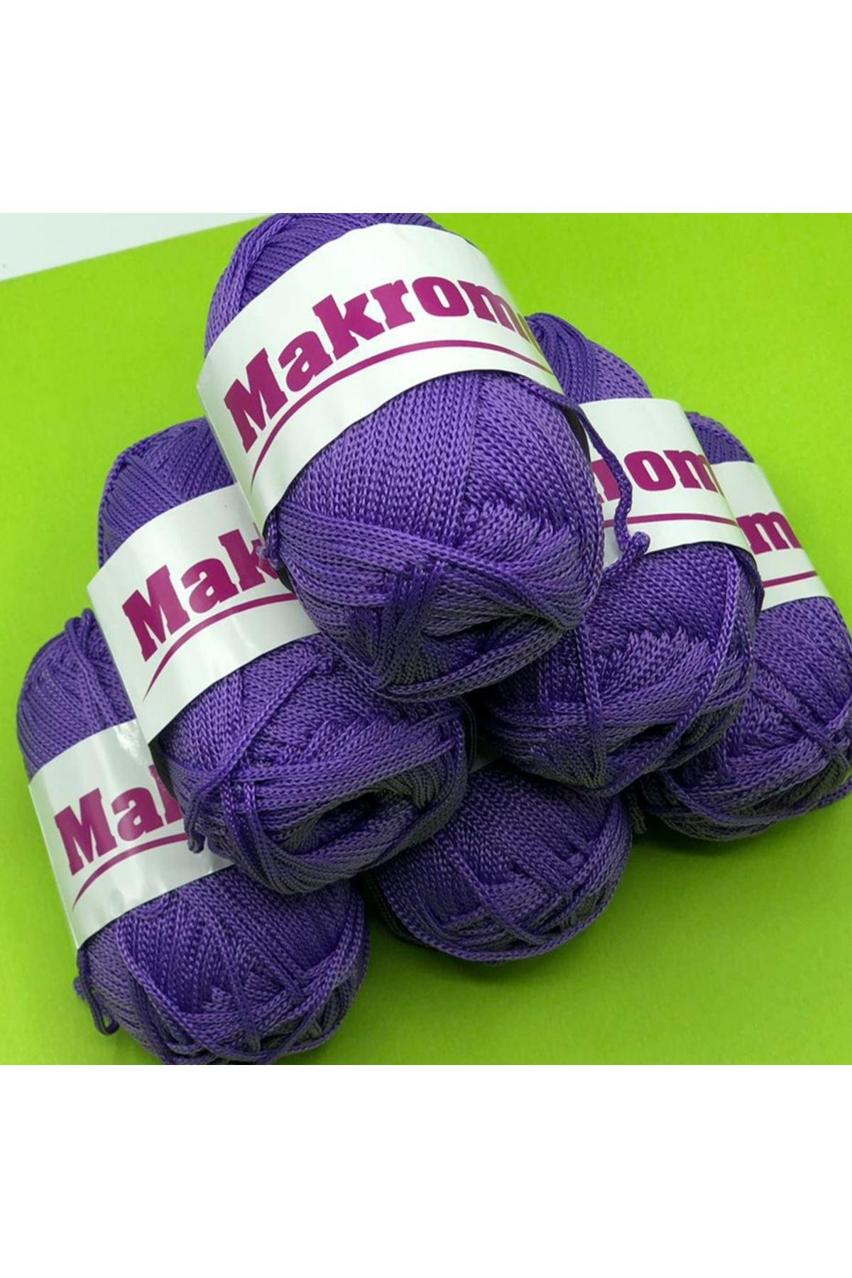 Polyester Makrome Grup - 03 Mor