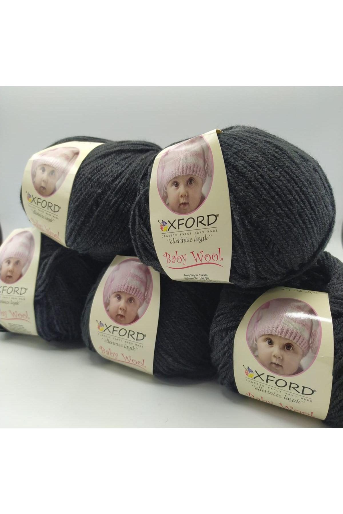 Outlet Baby Wool 5'li Grup - Antrasit