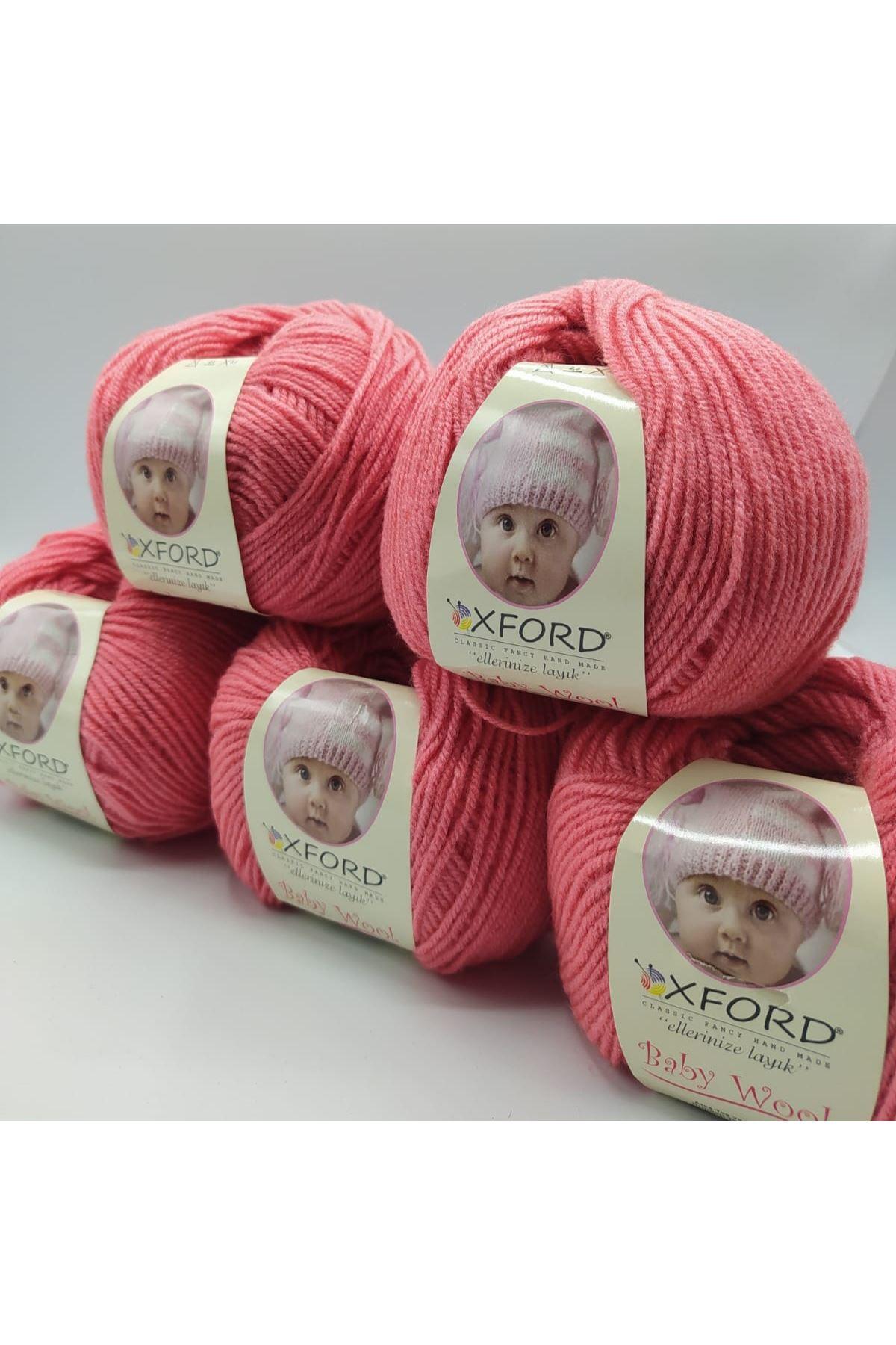 Outlet Baby Wool 5'li Grup - Şeker Pembe