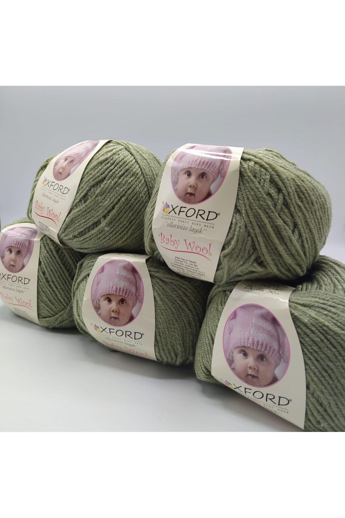 Outlet Baby Wool 5'li Grup - Zeytuni