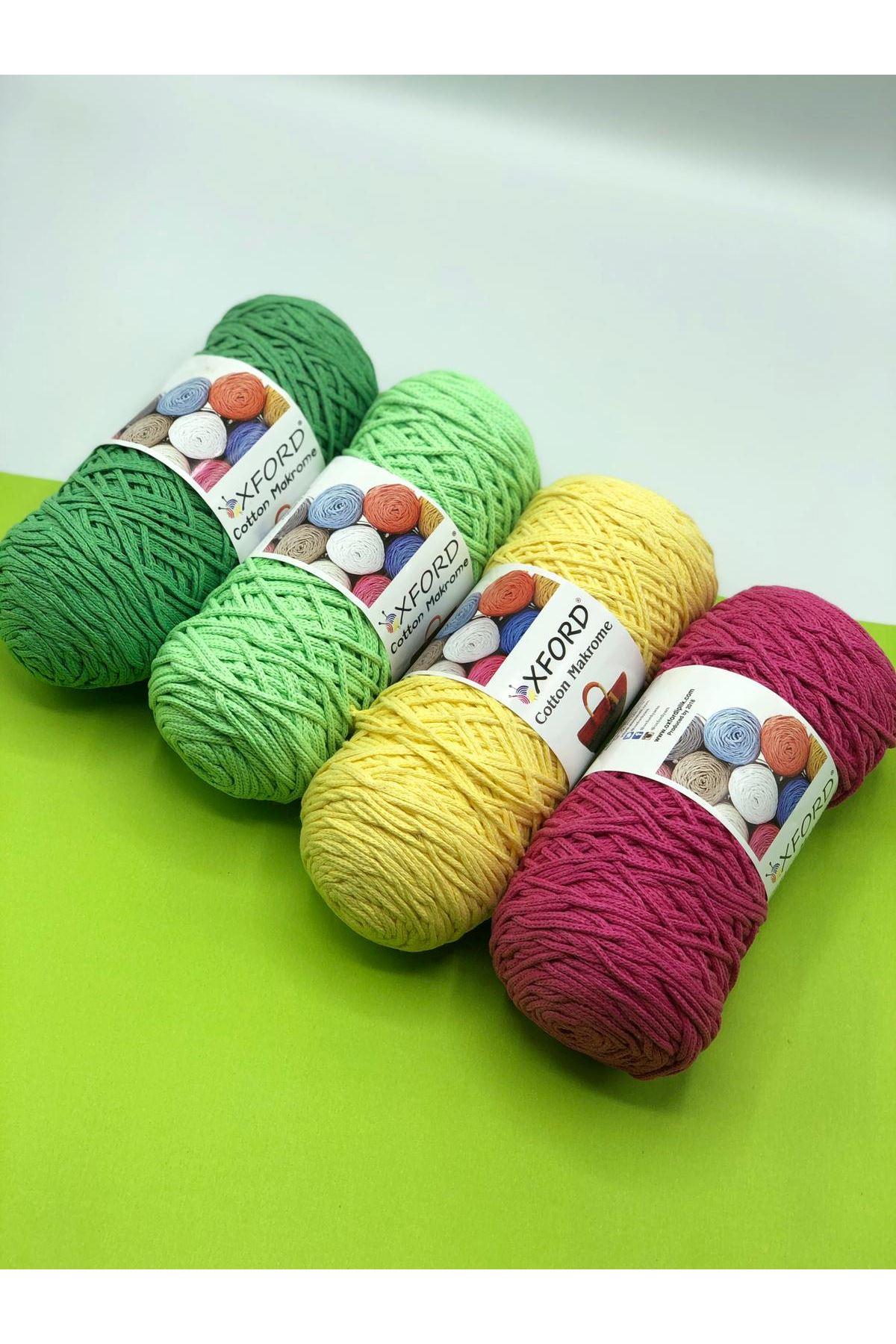 Cotton Makrome 4'lü Paket - 05