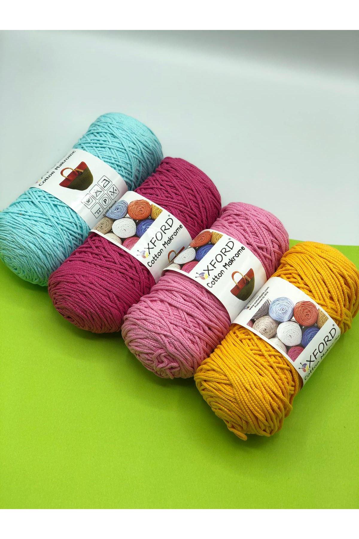 Cotton Makrome 4'lü Paket - 03