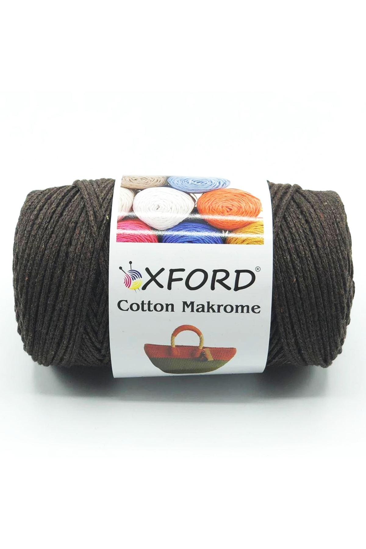 Cotton Makrome 1042 Acı Kahve