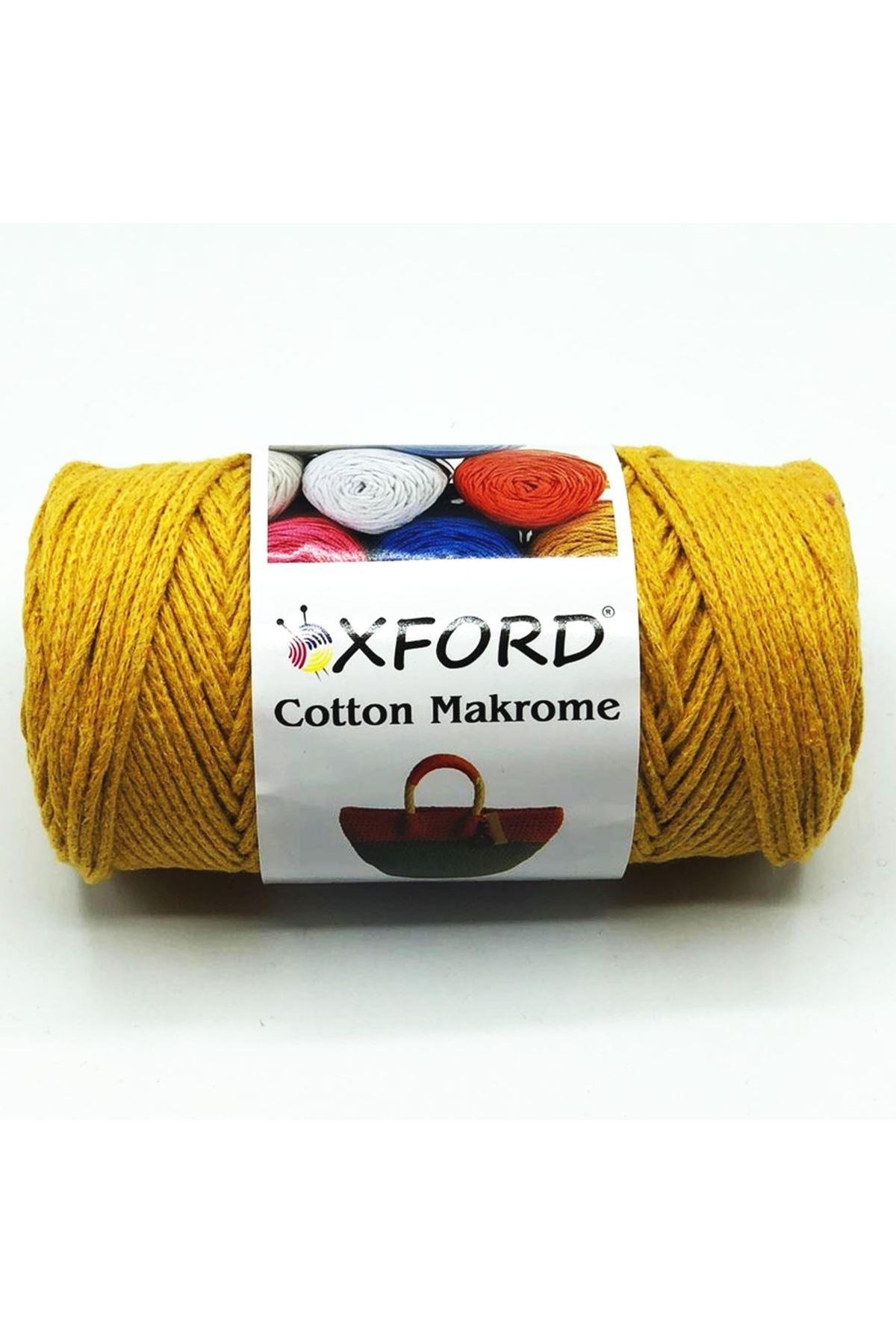 Cotton Makrome 1040 Hardal