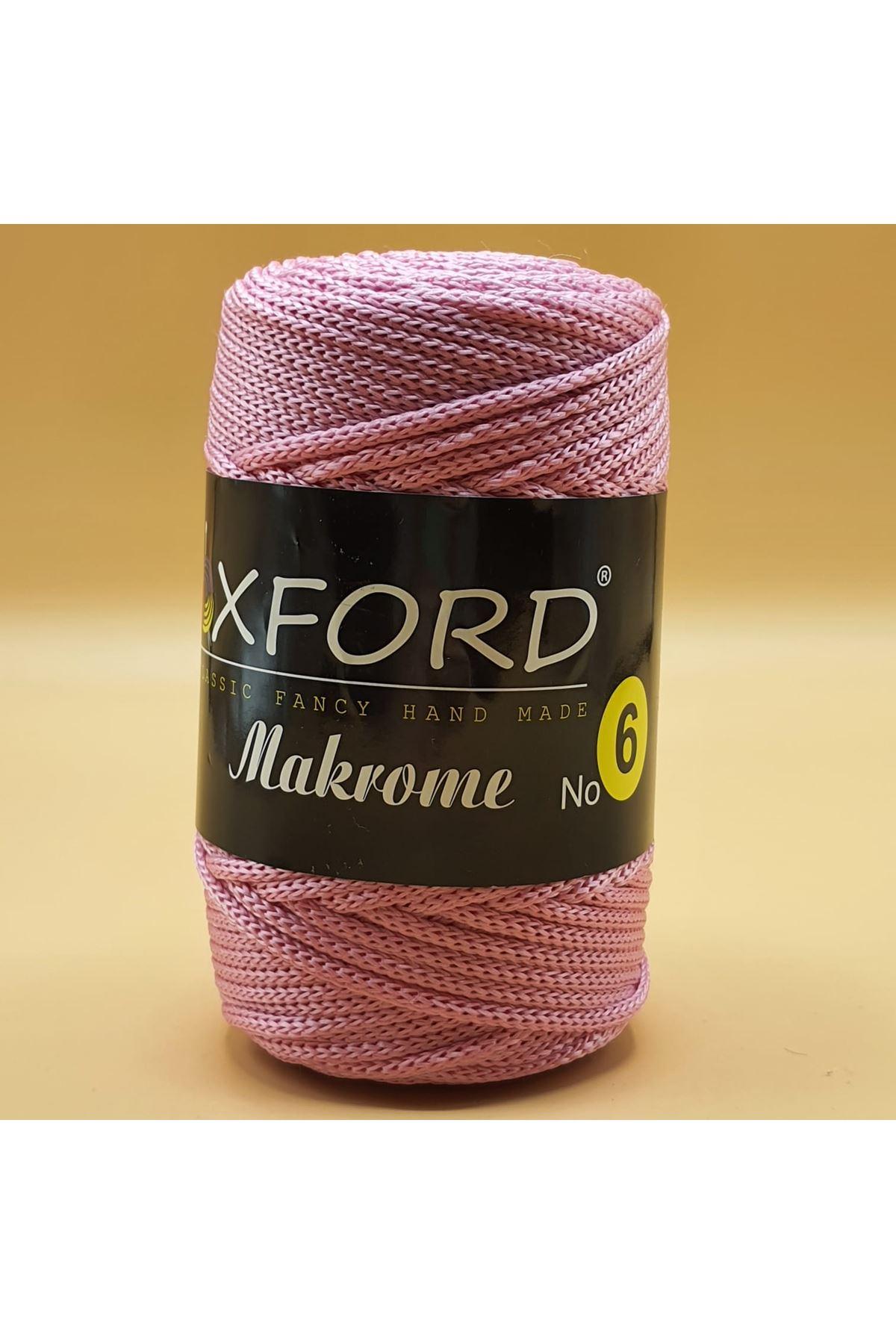 Oxford 6 No Makrome - 103 Pembe
