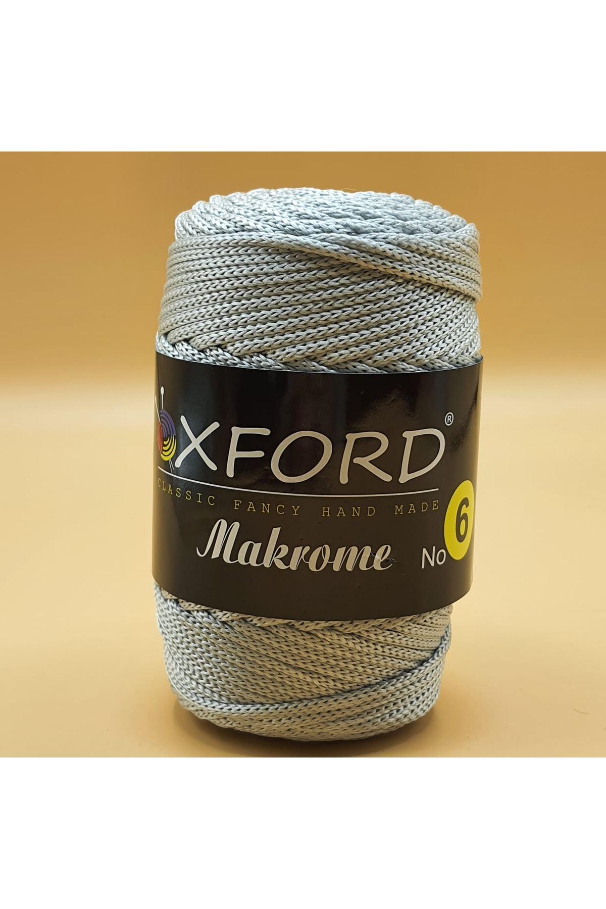 Oxford 6 No Makrome - 104 Açık Gri