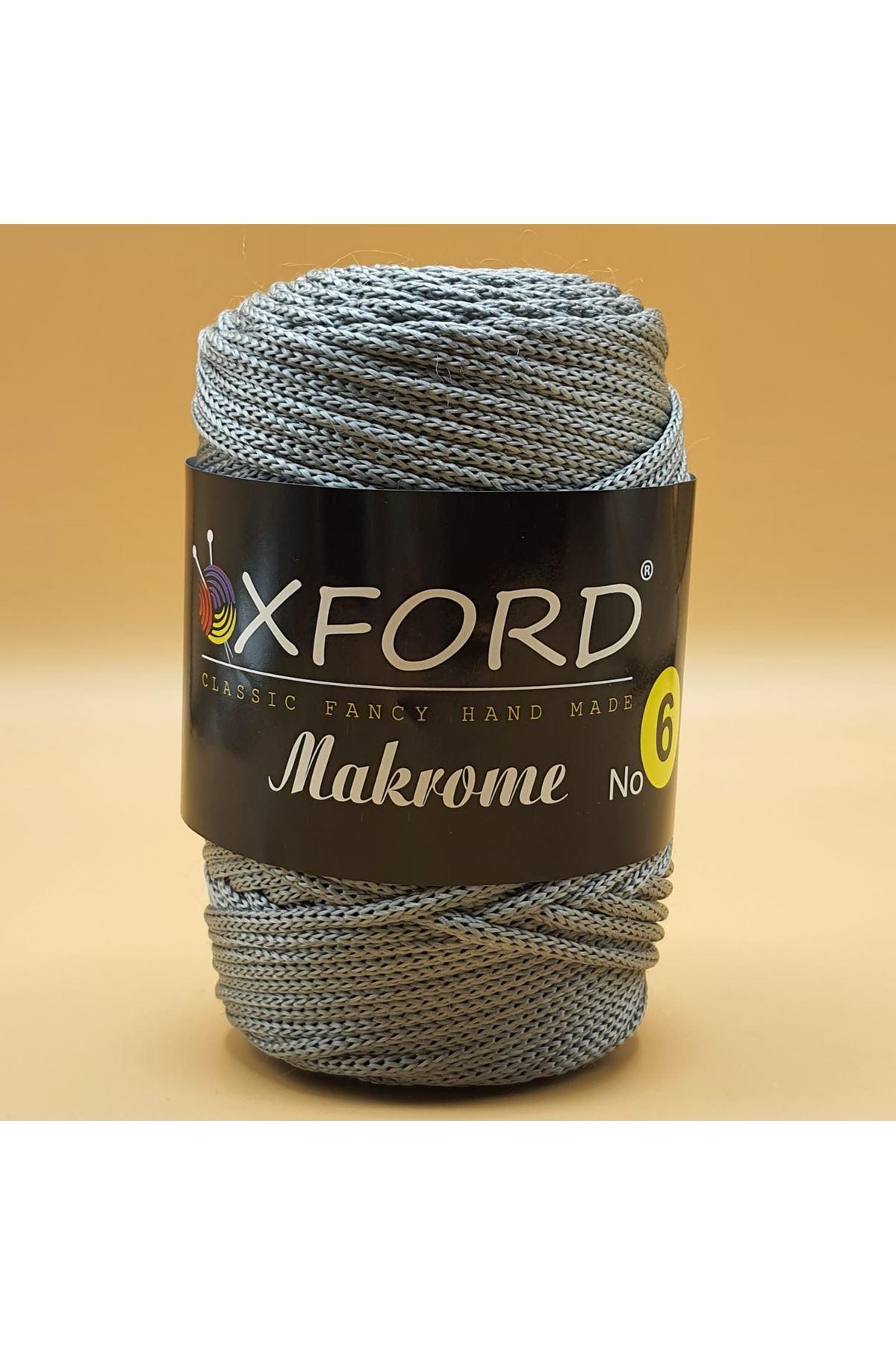 Oxford 6 No Makrome - 105 Koyu Gri