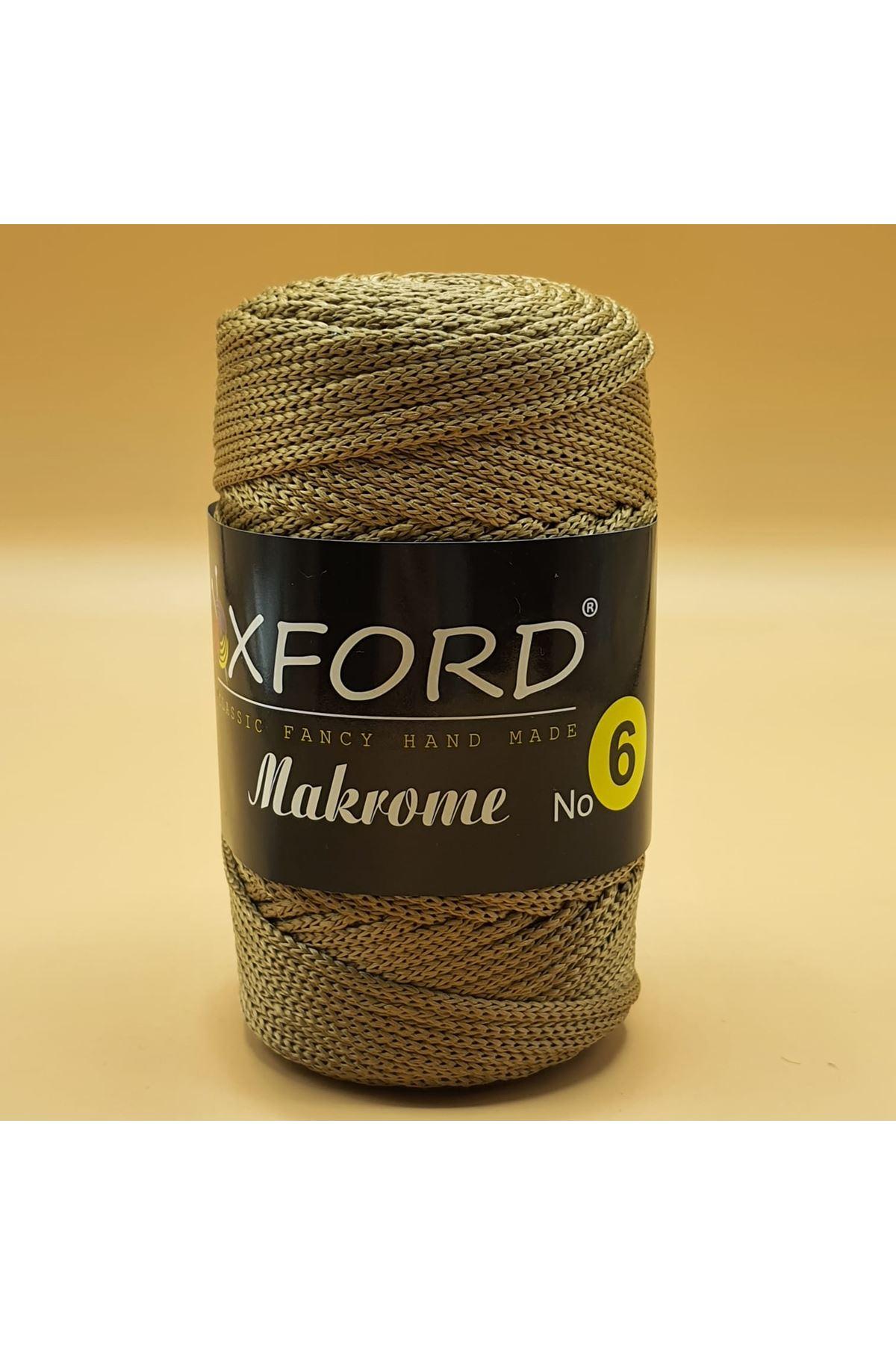 Oxford 6 No Makrome - 107 Koyu Bej