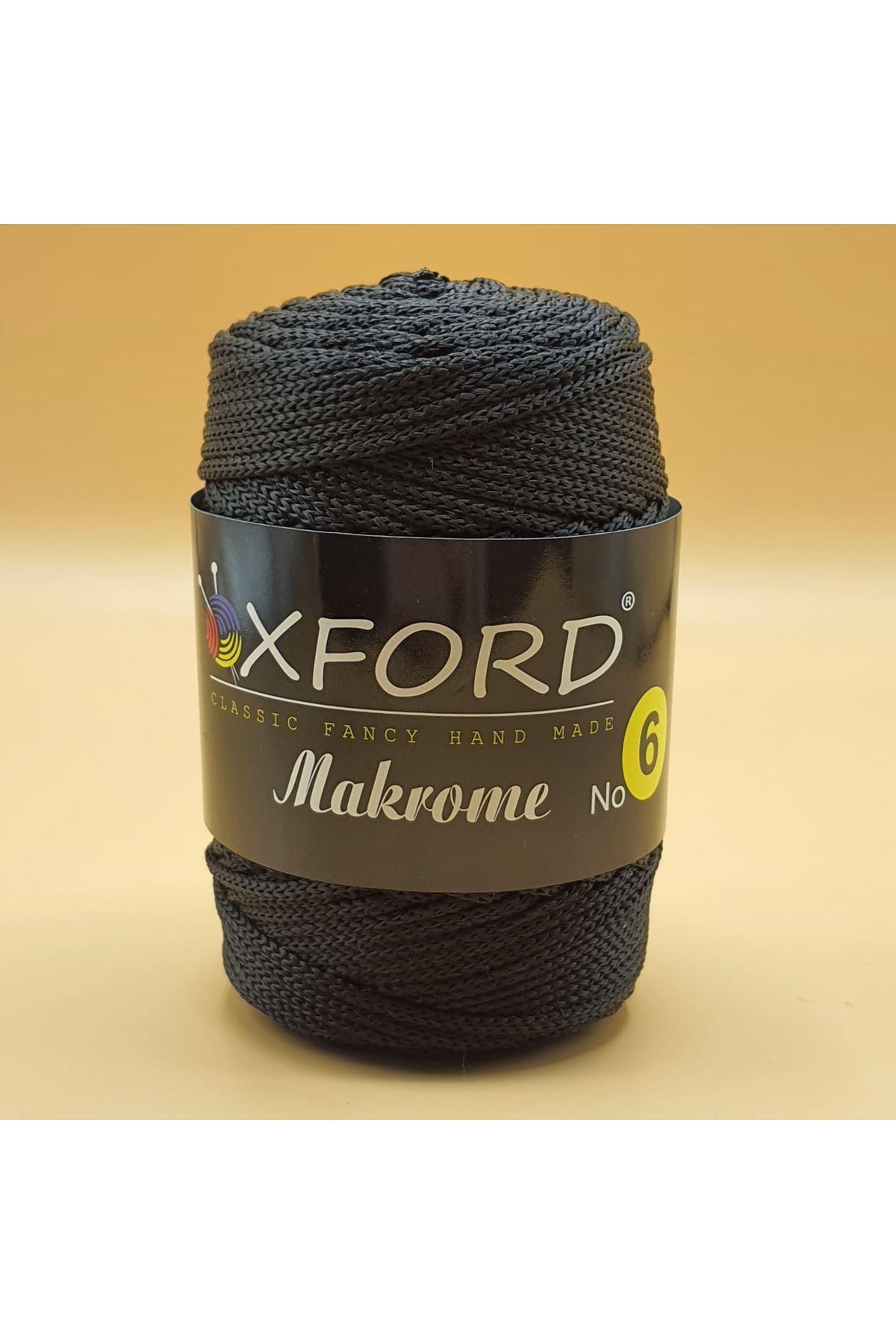 Oxford 6 No Makrome - 101 Siyah