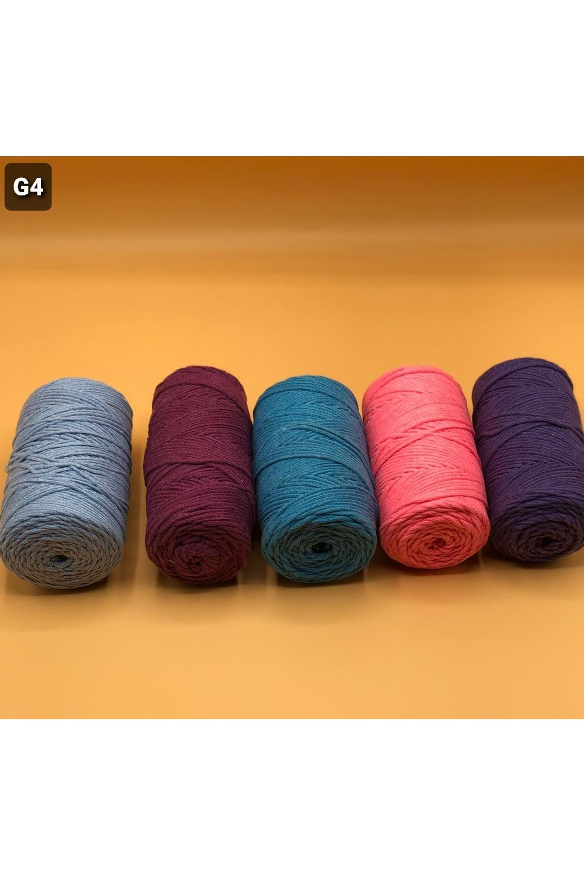 Cotton Makrome MIX Paket 1270 gram Grup 4