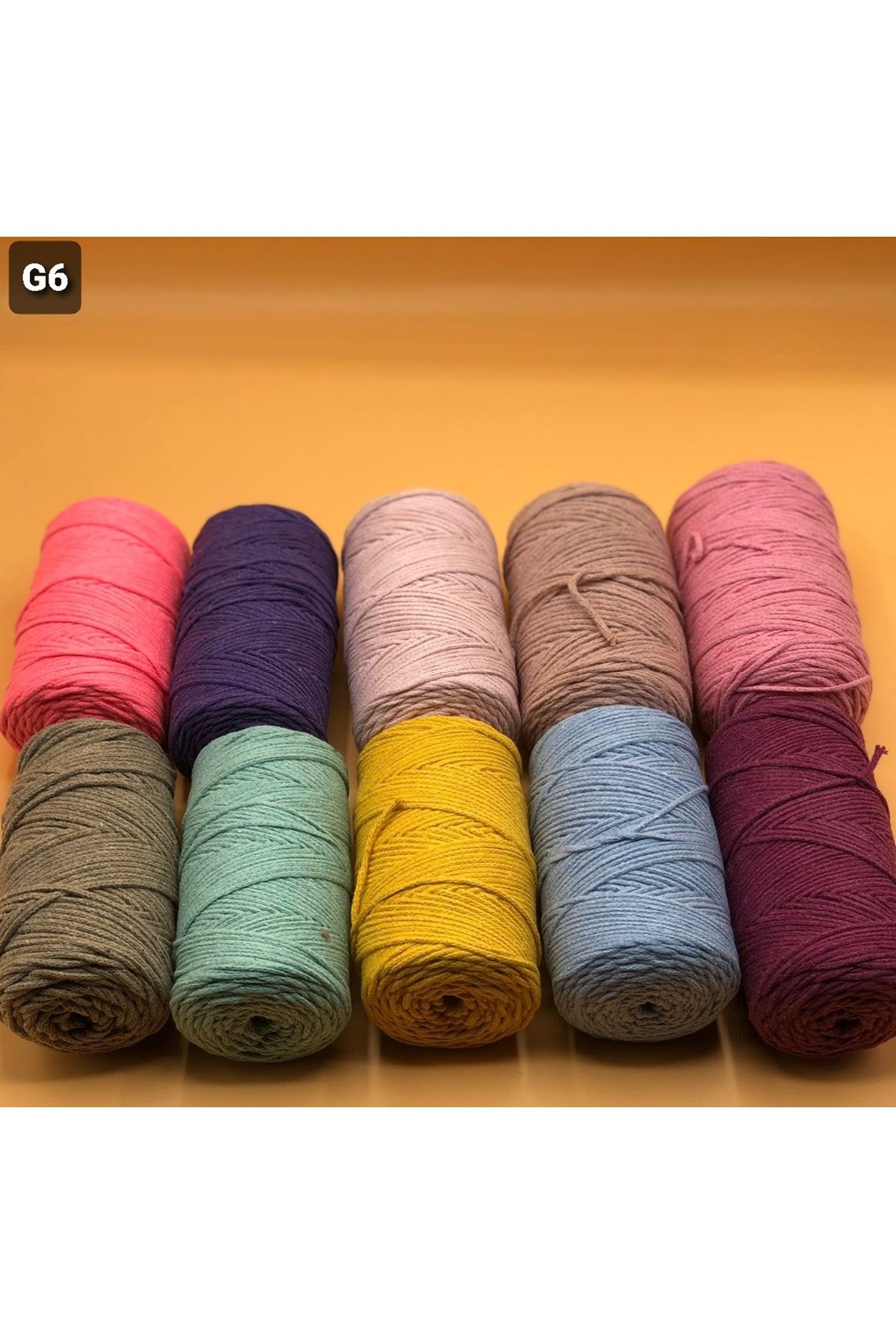 Cotton Makrome MIX Paket 2540 gram Grup 6