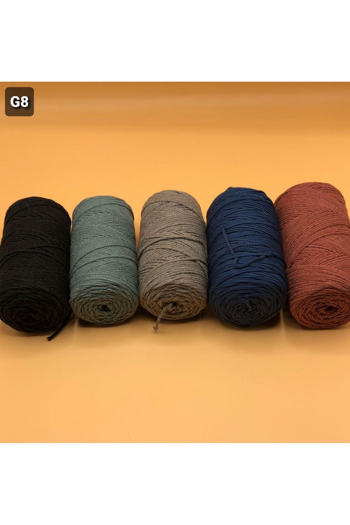 Cotton Makrome MIX Paket 1279 Grup 8
