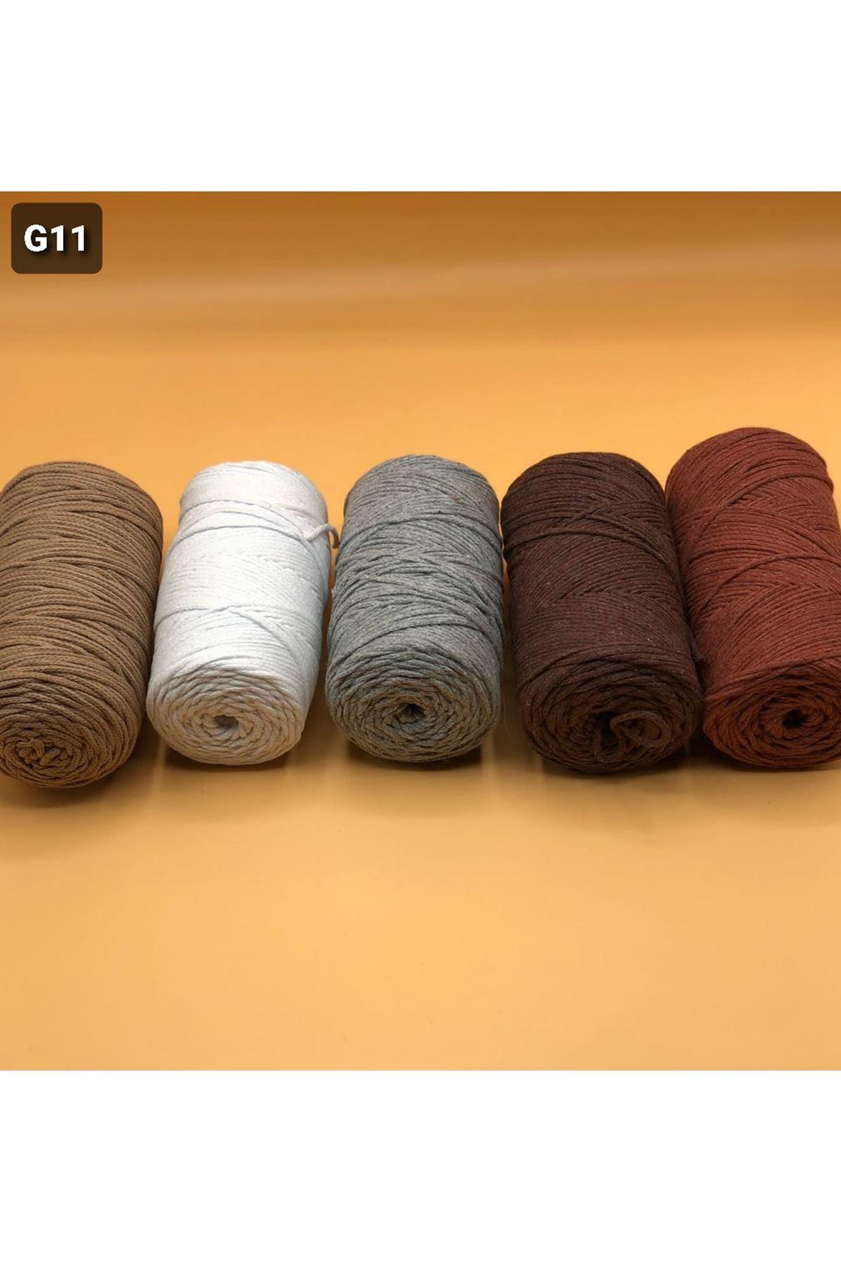 Cotton Makrome MIX Paket 1270 Grup 11