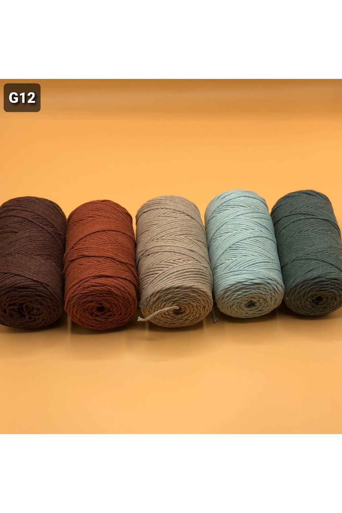 Cotton Makrome MIX Paket 1270 Grup 12