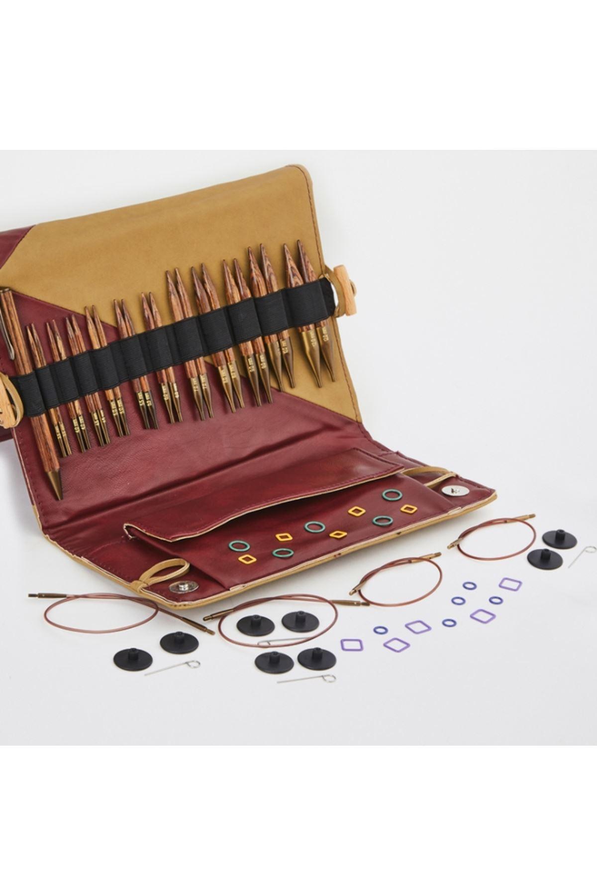 Knit Pro Ginger Special Misinalı Şiş Örgü Seti