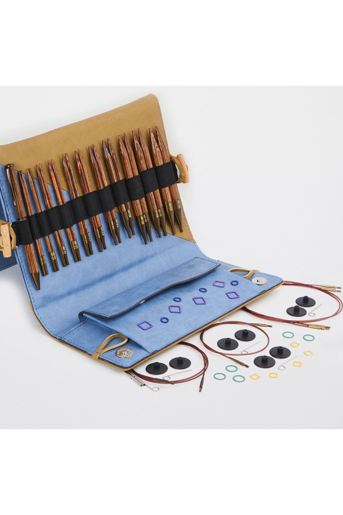 Knit Pro Ginger Deluxe Misinalı Şiş Örgü Seti