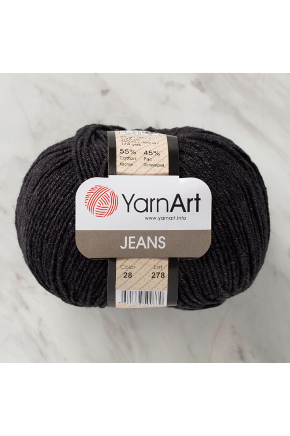 Yarnart Jeans 28 Siyah