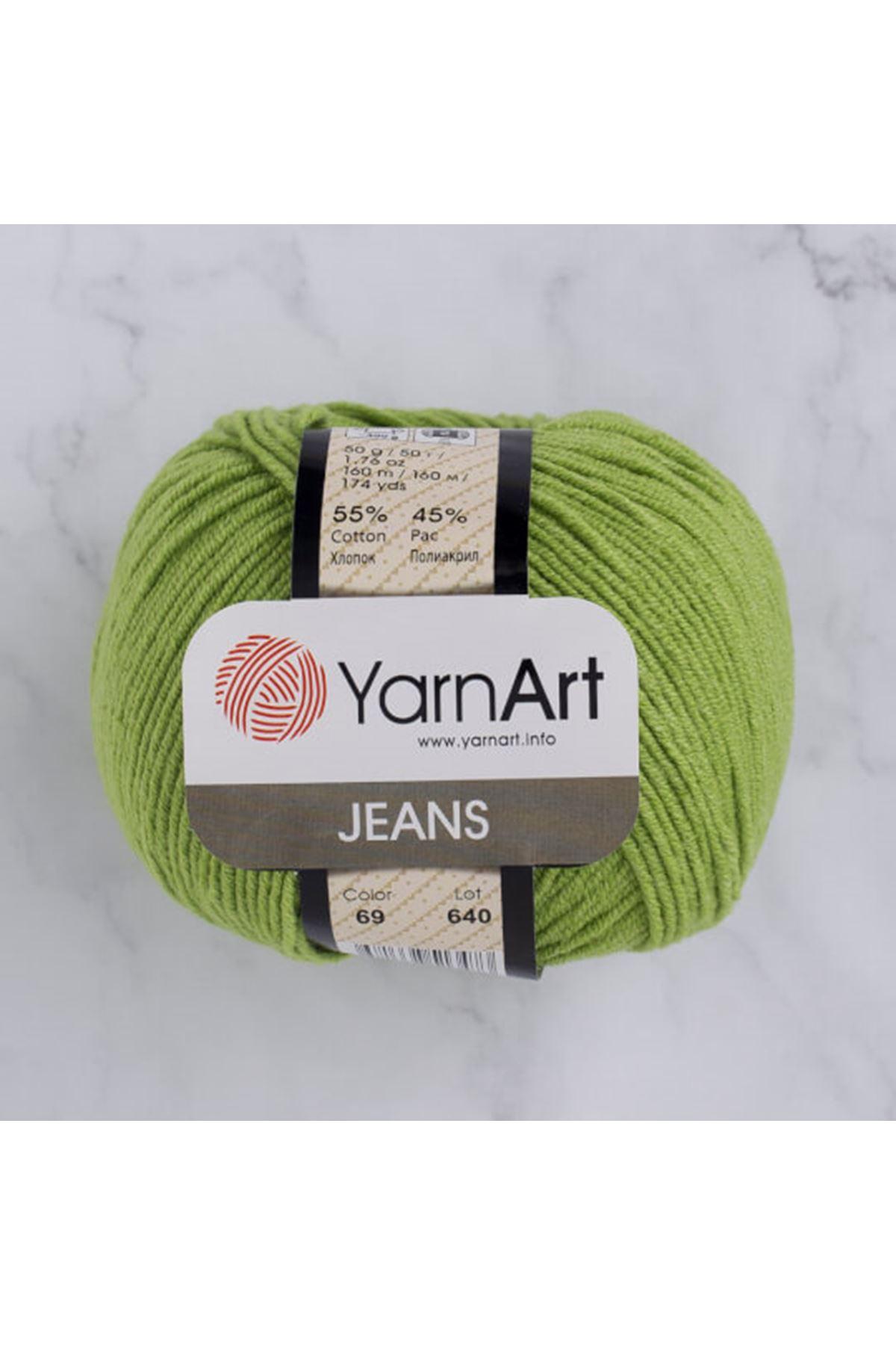 Yarnart Jeans 69 Çimen