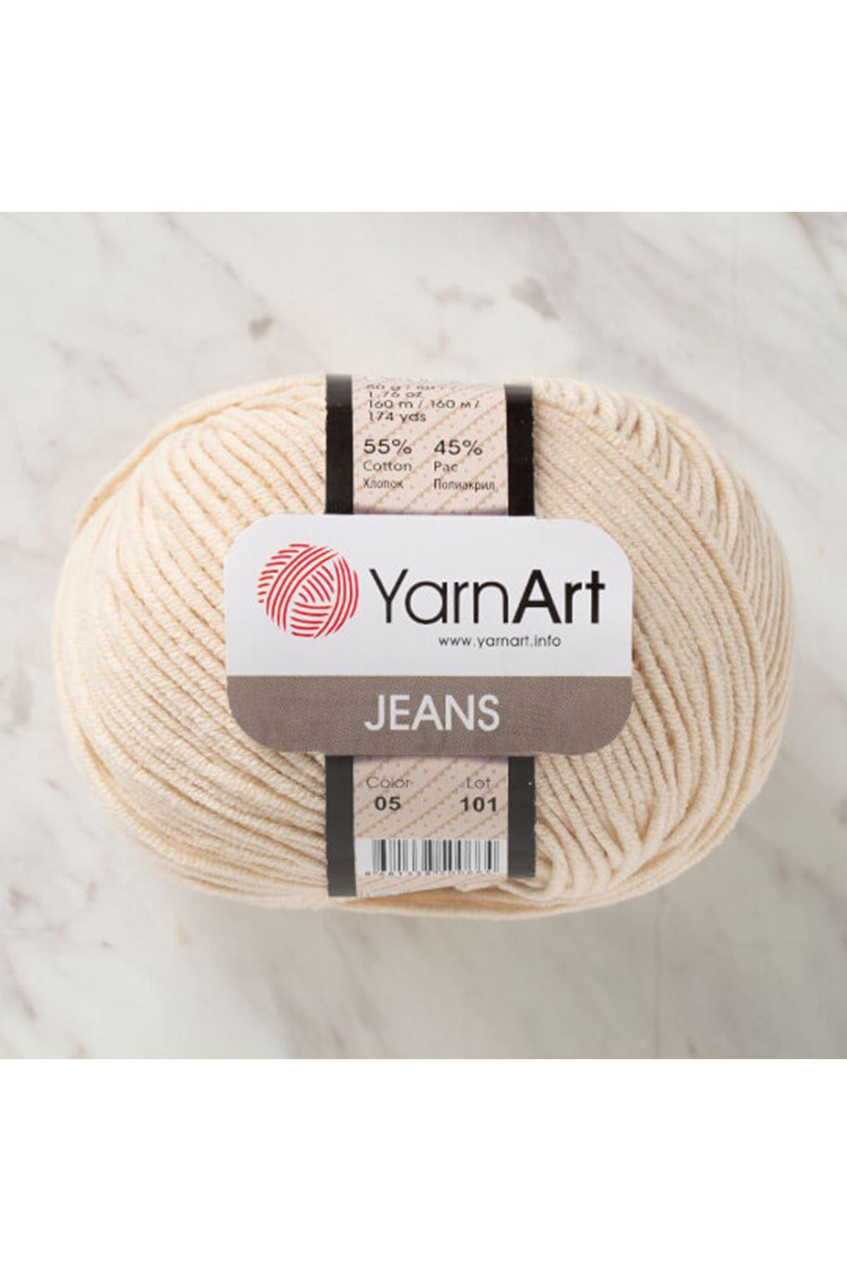 Yarnart Jeans 05 Krem