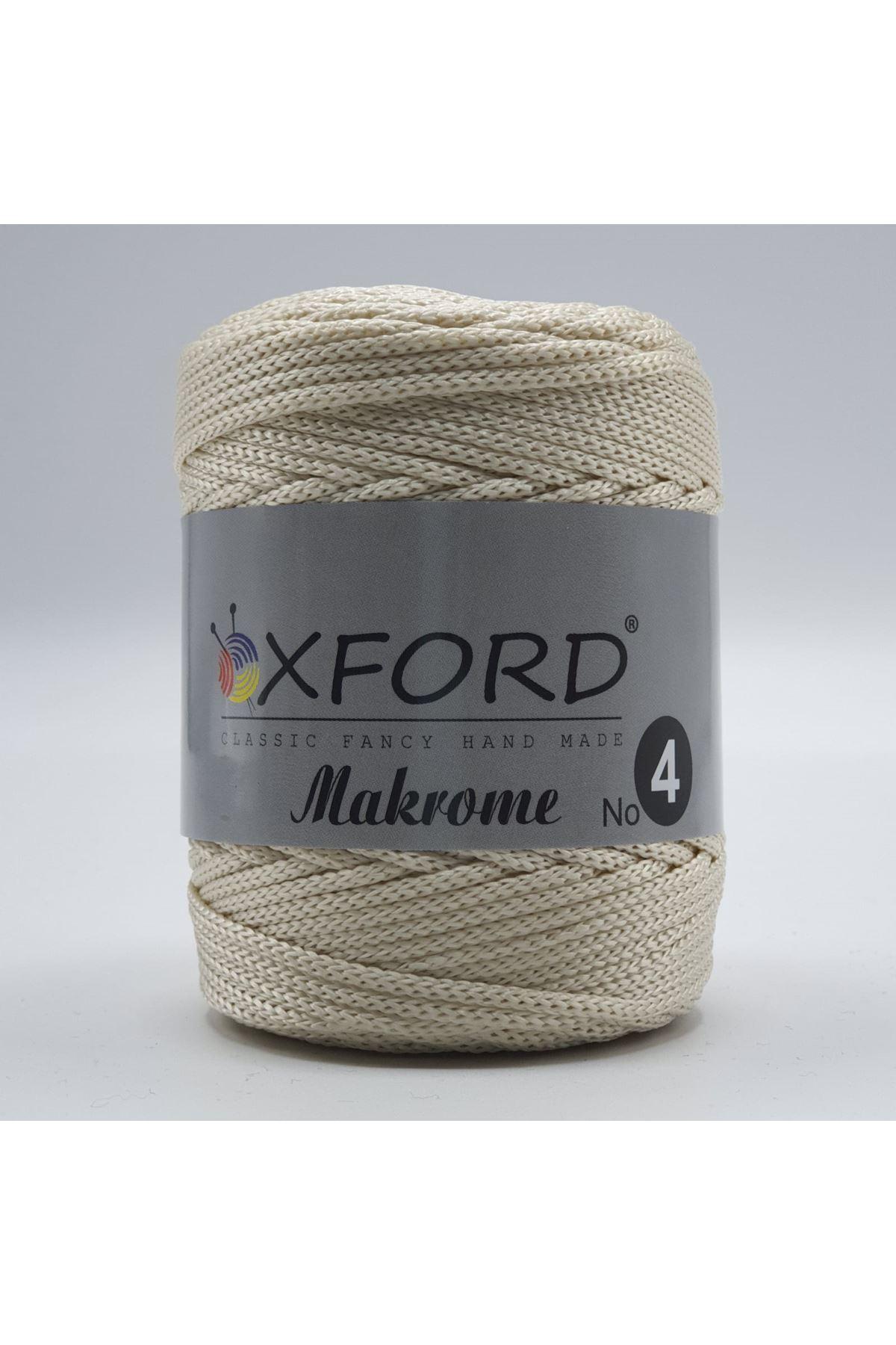 Oxford 4 No Makrome - 34 Bej