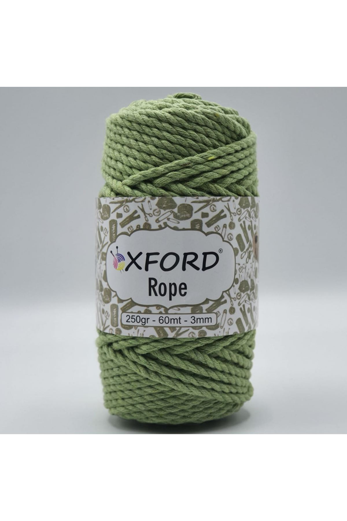 Oxford Rope 3mm 003 Fıstık