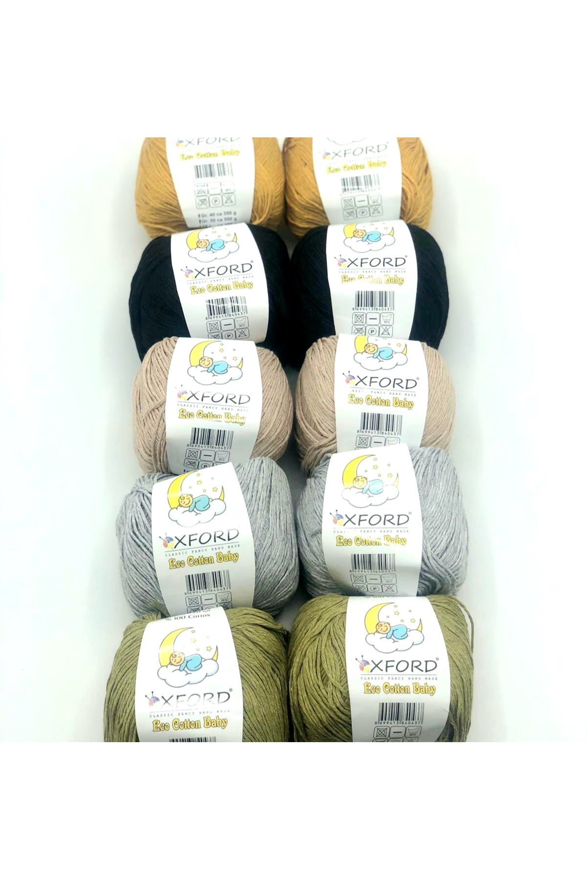Eco Cotton Baby 10'lu Paket - 03